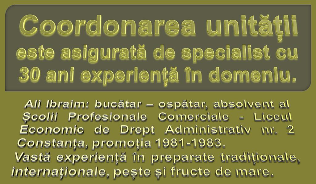 coordonarea unității