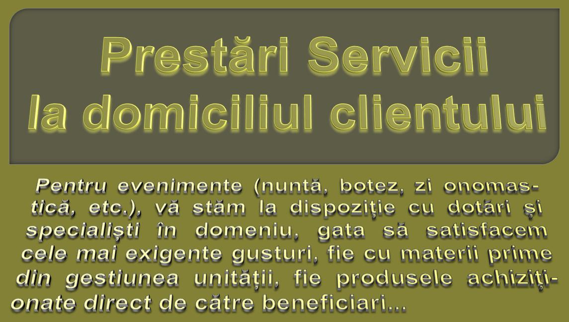 prestări servicii
